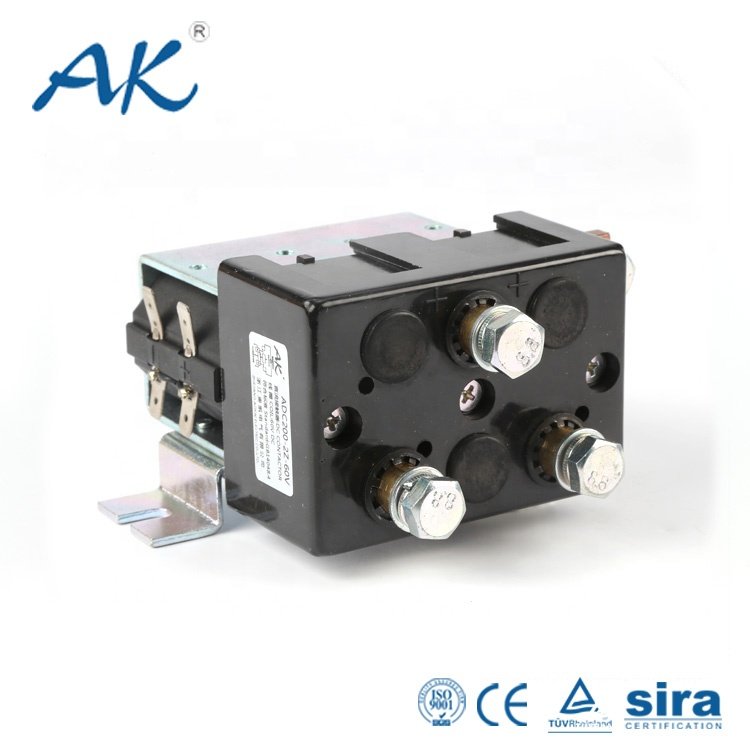 Single Pole 12v 24v 200a Dc Contactor(relay) Used In Telecom Equipment With  Continuous Work Duty - Buy Telecom Equipment12v 24v Dc