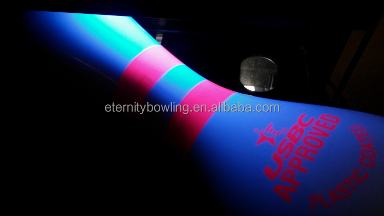 SE Glow Logo Bowling Entertainment Center Bowling Plastic Coated Pins