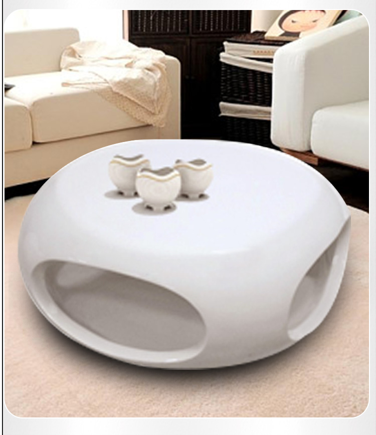 Fiberglass side table living room furniture centre table coffee table