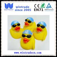 customize novelty rubber swim cap goggles duck