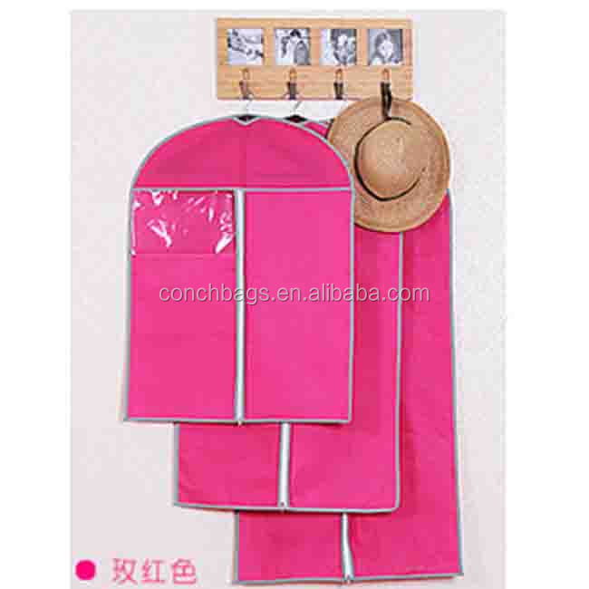 cheap Eco-friendly clothing garment bag for supermarket