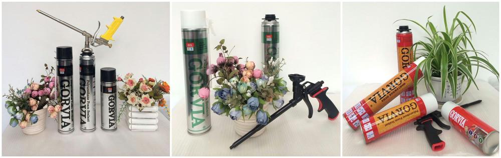 Gorvia Item-o 750ml Straw Type Foam Crack Filler/gaps & Cracks Insulating  Foam Sealant - Buy Foam Crack Filler,Gaps & Cracks Insulating Foam