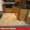 Newstar 12x12 kitchen floor yellow color natural travertine tiles