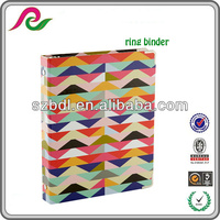 School supplies PP A4 Colorful D ring binder