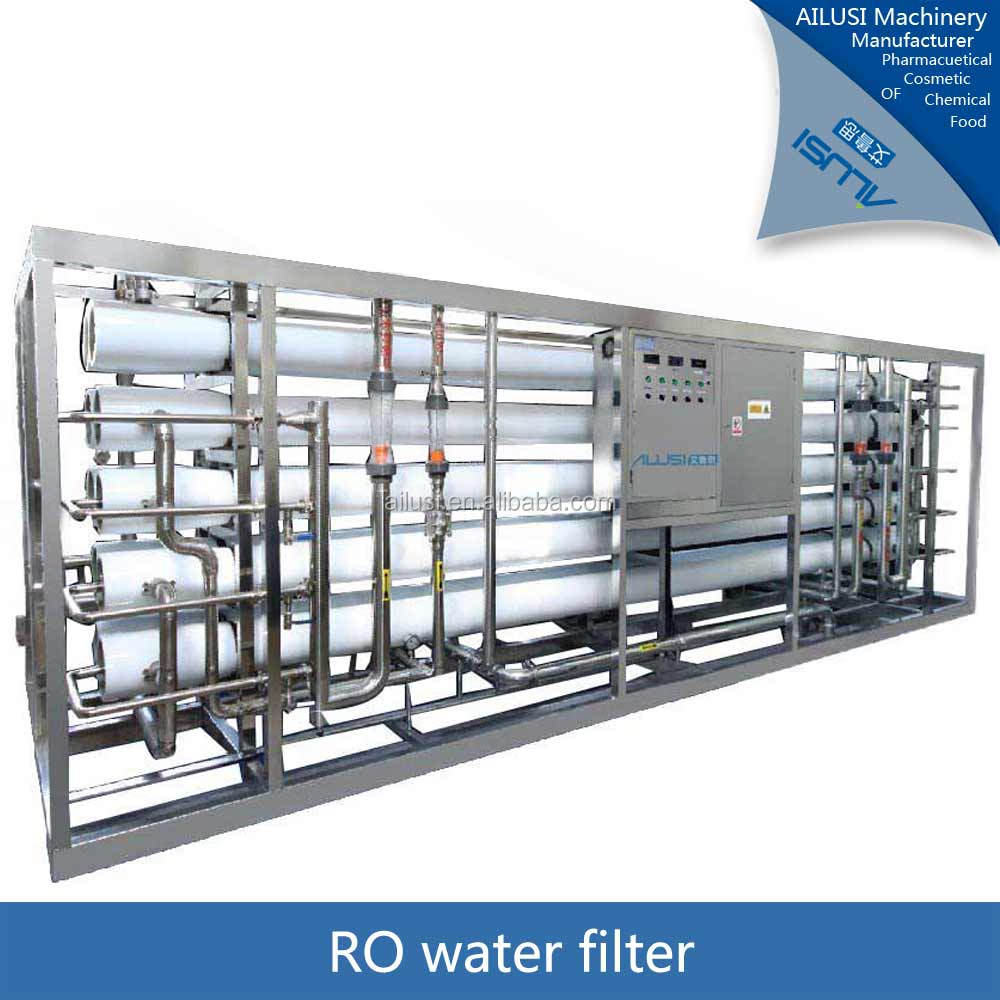 98% desalination ratio reverse osmosis system/RO plant stainless steel purifying removable iron water treatment