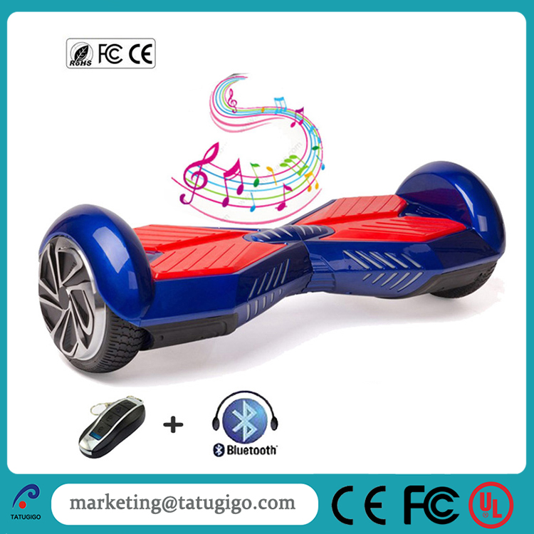High quality 6.5 inch bluetooth remote 2 wheel smart the lamborghini electric scooter with carrying bag