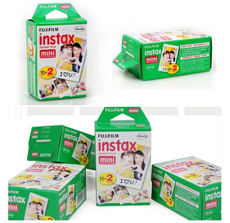 Fujifilm Instax Mini 8 плёнка ( 20 листов ) для камера мгновенных Mini 7 s 25 50 s 90 фотобумага с коробка
