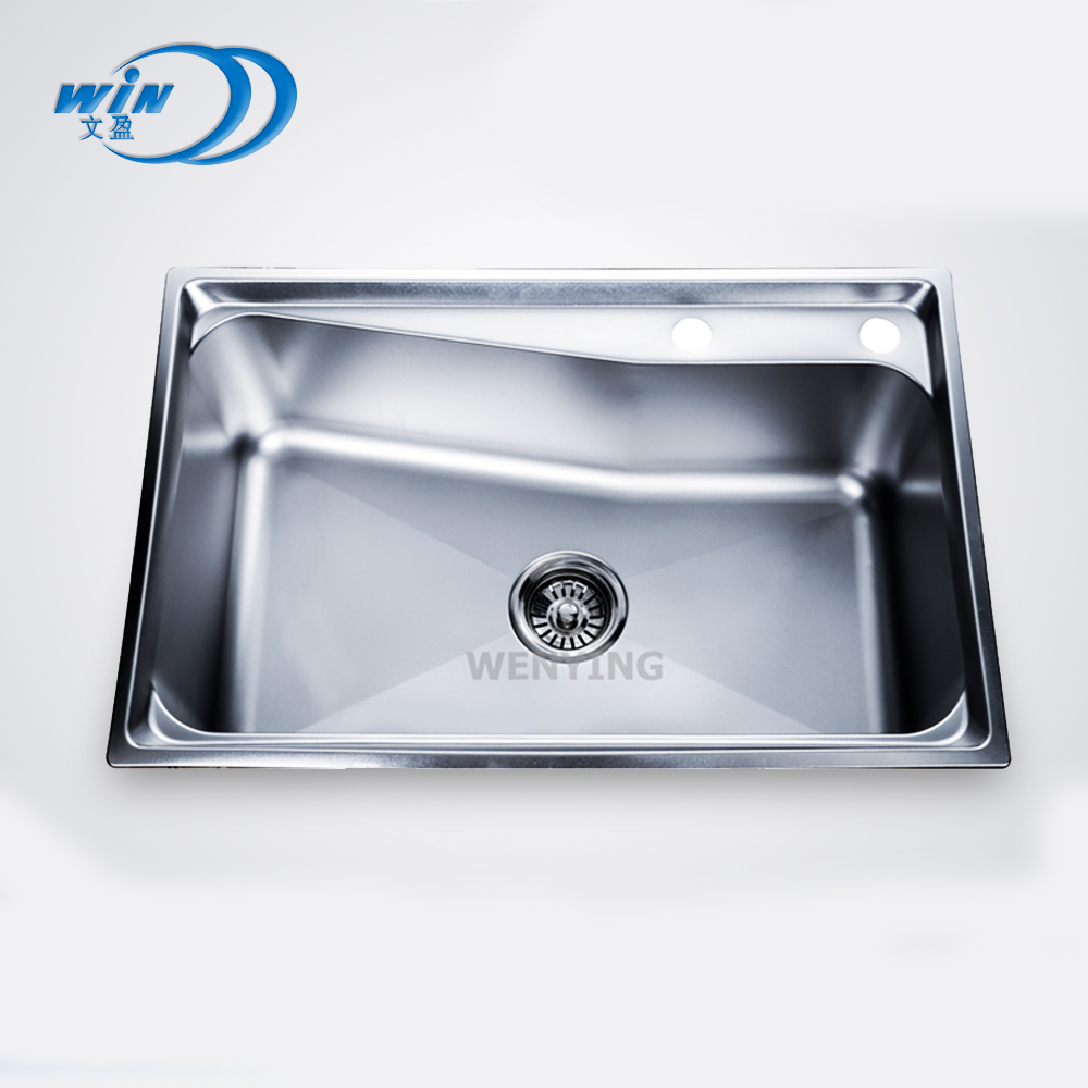 Stainless steel kitchen sink produk buatan indonesia 201 besar mangkuk tunggal sink murah topmount mangkuk tunggal sink buy stainless steel kitchen sink