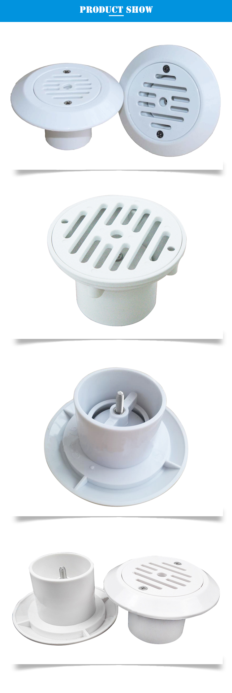 ABS Pool Fittings Swimming Pool Accessories Suction Fittings