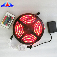 striscia di <span class=keywords><strong>led</strong></span> rgb con mini telecomando per la <span class=keywords><strong>tv</strong></span> umore luce decorare