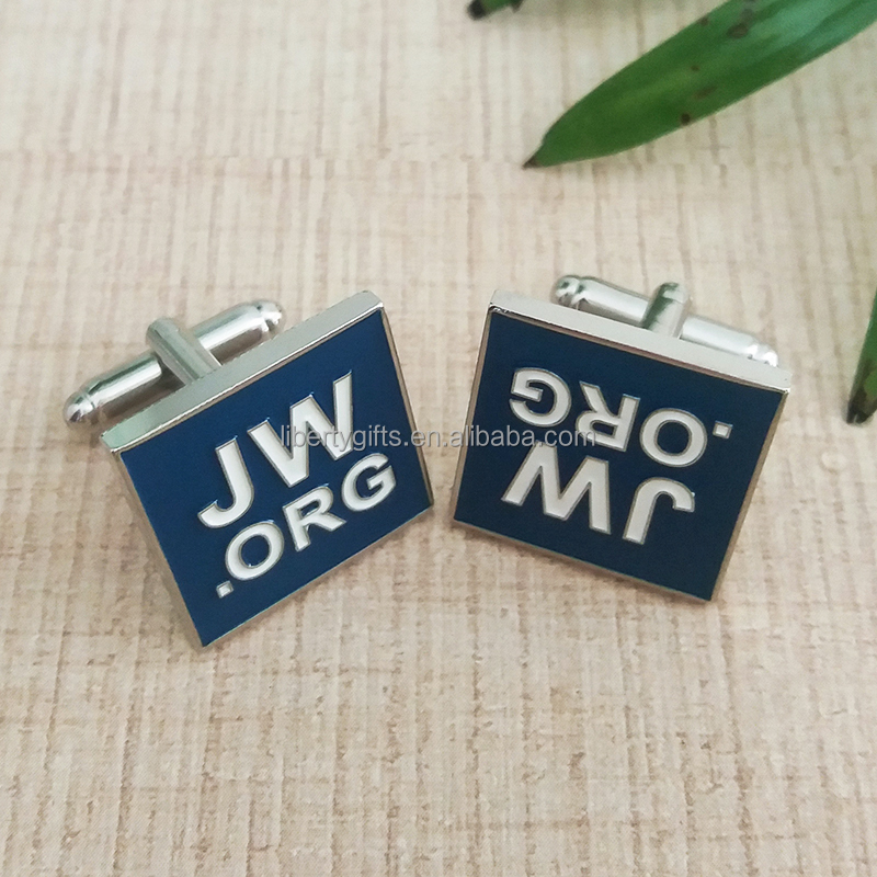 Wholesale Soft Enamel Jw.org Cufflinks