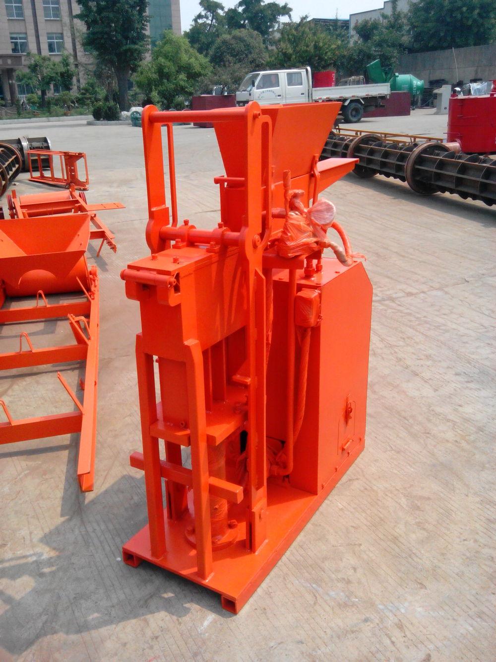 Interlocking Compressed Earth Block Machine : Sy eco brava thailand soil interlocking brick machine