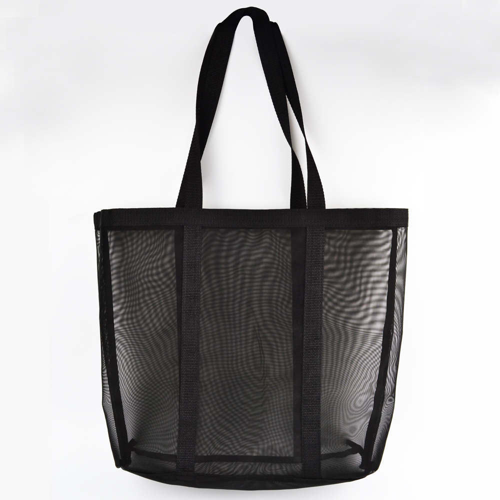 large utility souvenir tote shopping bag folding black fashion custom printed tote bag
