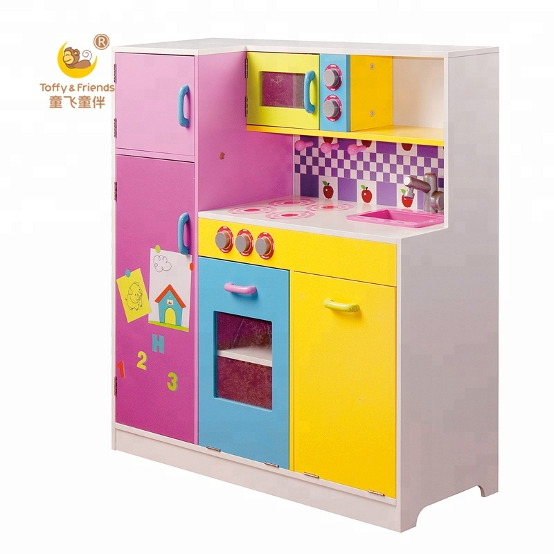 Toffy & Friends Wooden Kids Play Kitchen Set Pretend Kitchen - Buy Wooden  Kids Kitchen,Kids Kitchen Play Set,Cooker Kitchen Set Product on Alibaba.com