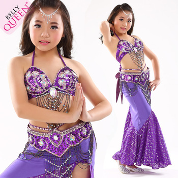 134e56204 Newest Youth Baby Girls Lassock Kids Belly Dance Stage Performance ...