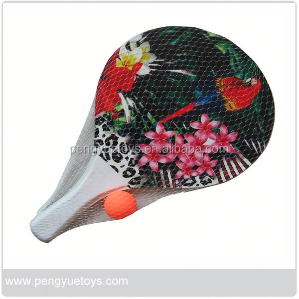 Good Quality Promotion Wooden Beach Racket