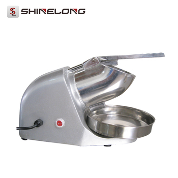 F317 Best Selling Electric Commercial Ice Crusher Machine