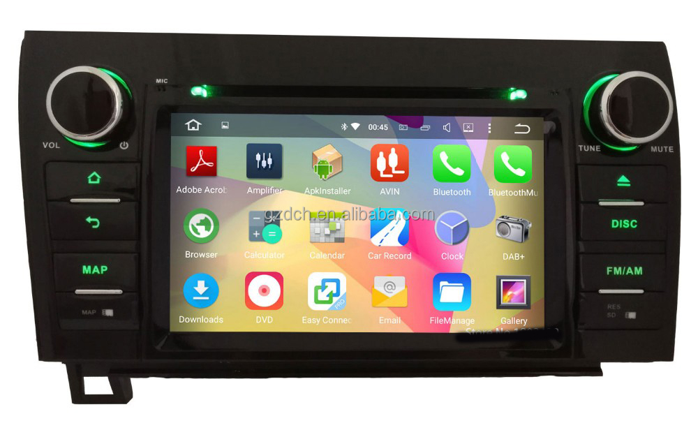 7 inch. 1024*600 Android 5.1 quad Core <strong>Car</strong> DVD Player For <strong>Toyota</strong> Tundra Sequoia 2010 2011 2012 2013 2014 WS-9177