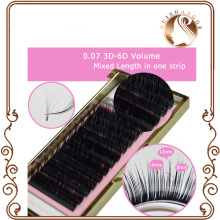 flat false eyelash extensions soft thin tip flat roots new products individual mink eyelash extension