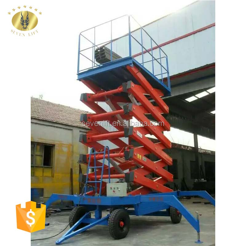 7LSJY Shandong SevenLift hydraulic genie lift aerial work for air conditioning