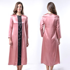 High quality wholesale factory price women's 100% long silk nightgown robe