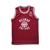 Custom Embroidery Tackle Twill Your Design Hill Man Wayne #9 College Maroon Basketball Jersey