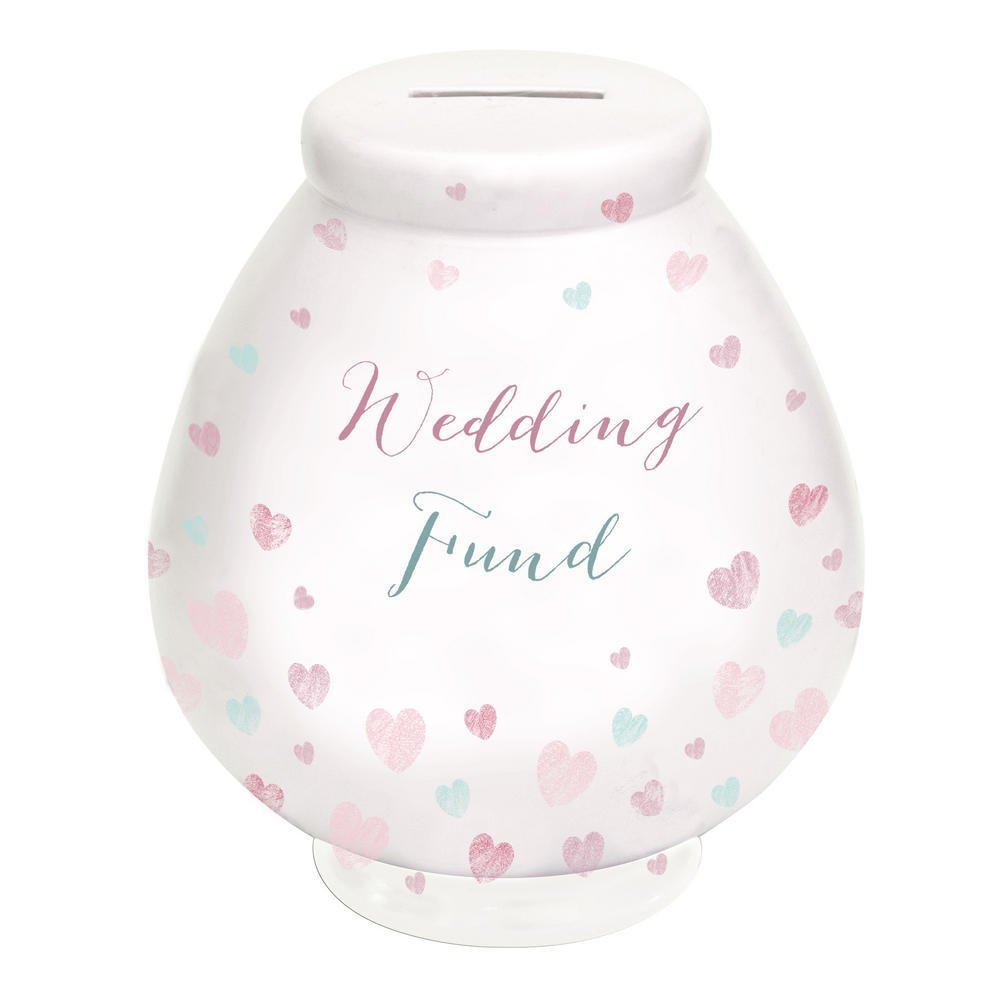 Get Quotations Ukgiftonline Wedding Gift Fund Pot Of Dreams Money Box