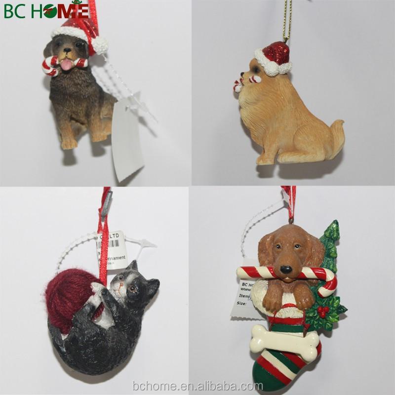 Wholesale Dog Christmas Ornaments Wholesale Dog Christmas