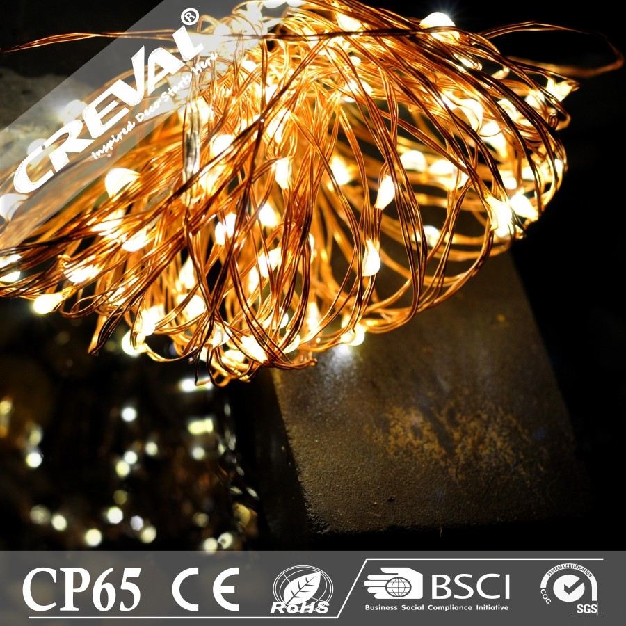 10M 100 lights copper wire warm white outdoor led string festoon lighting