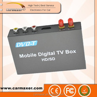 Fashion car dvb-t box car portable mobile car top 10 dvb-t receiver