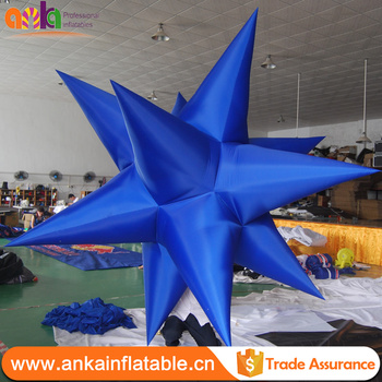 large ceiling hanging christmas decorations inflatable stars
