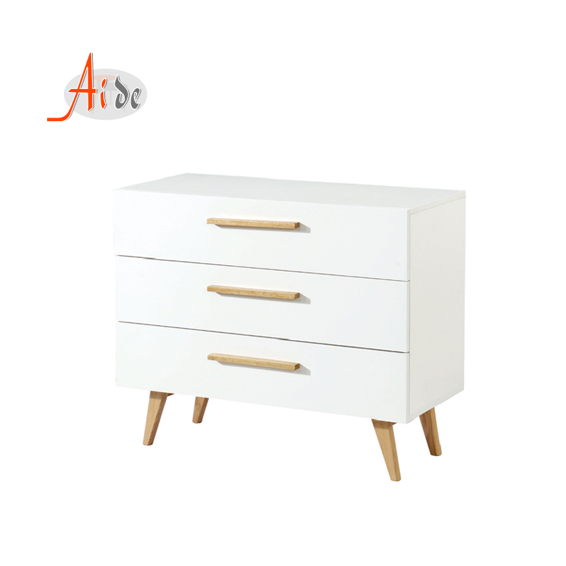 Environmental Custom Fitted  fashion luxury fair price white chest of drawers for bedroom