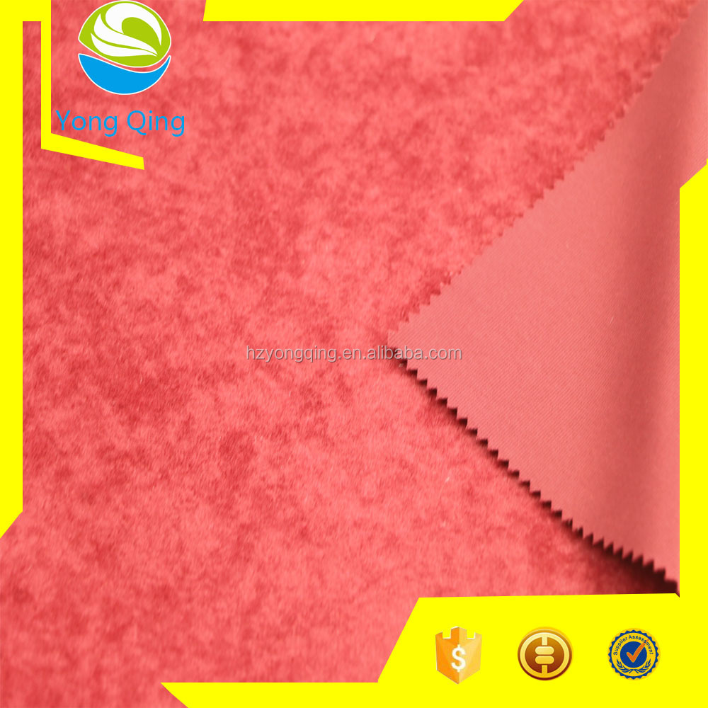 China factory 100% polyester dyed aloba fabric for fashion garment