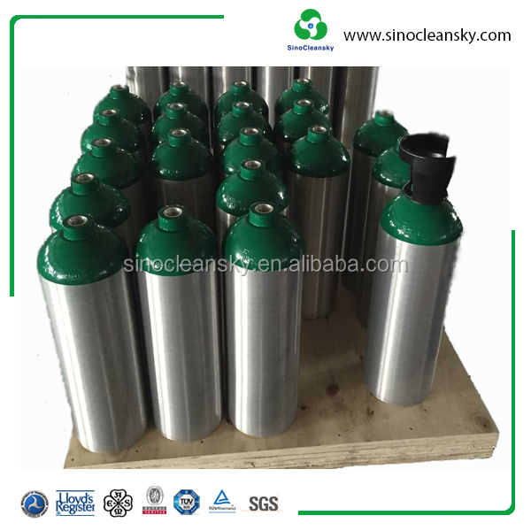 Food Grade Beverage CO2 Aluminum cylinder B20 13.4L