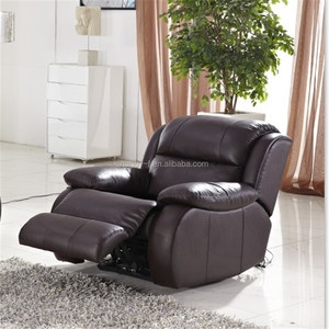 Lazy boy electric recliner chair made of leather