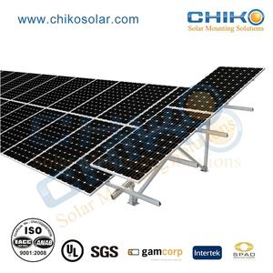 Commercial use carport solar panel mounting structure