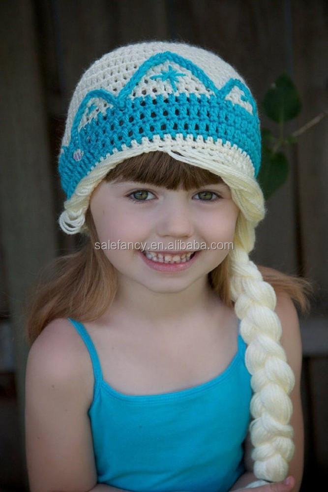 bf7007fca4f Elsa Frozen Crochet Hat Handmade Winter Hat Qhat-2236 - Buy Elsa Frozen  Crochet Hat