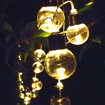 30 bulbs solar string lights warm white ledsolar lights outdoor 30 bulbs solar string lights warm white ledsolar lights outdoor solar garden lights aloadofball Image collections