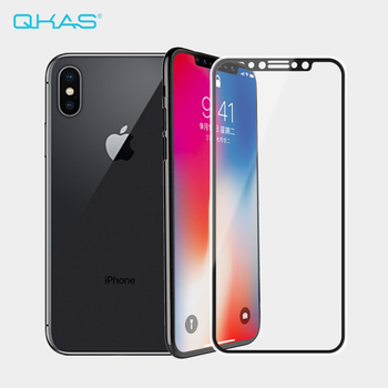 2017 Newest 3D Silicone Soft Edge Full Coverage Screen Protector Magic Tempered Glass Film for iPhone X