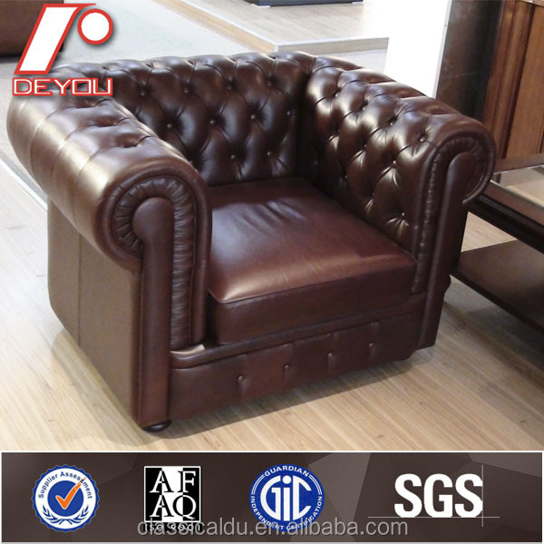 Vintage Leather Club Sofa Chesterfield Clic Furniture Cf 601