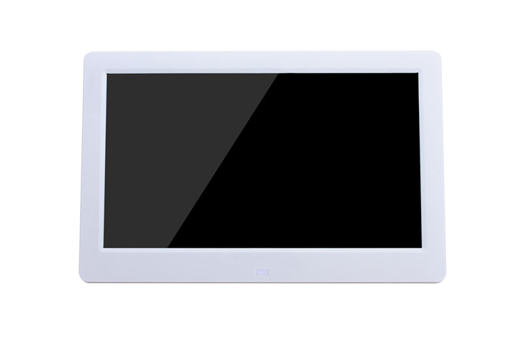 Hotest 10.1 Polegada Tft Lcd Digital Photo Frame Com Controle Remoto, suporte a Usb/Sd/Ms/mmc Card Entrada
