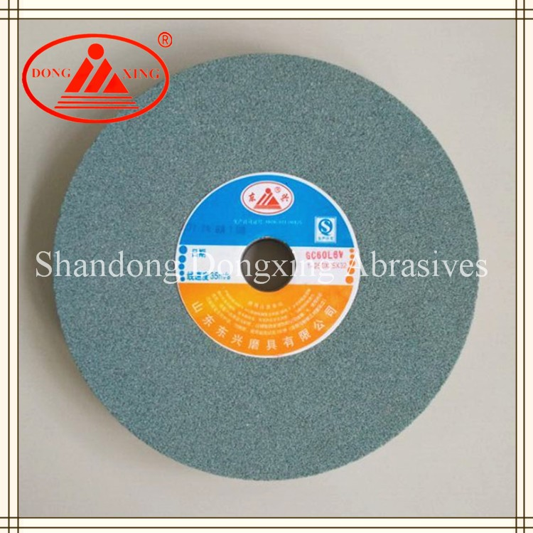 250x25x32mm green silicon carbide bench grinding wheels