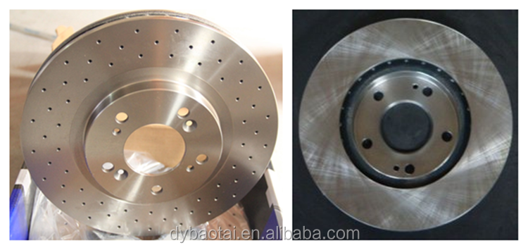 high quality factory wholesale with certification brake disc brake rotors OE No. 432067S000 for car NISSA N truck Armada Titan