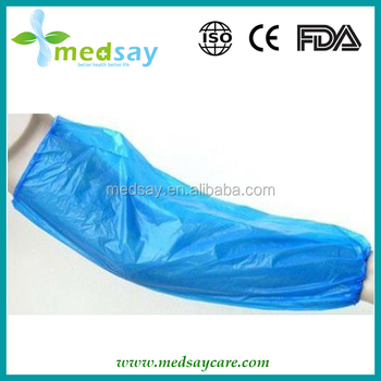 Medical disposable PE sleeve cover