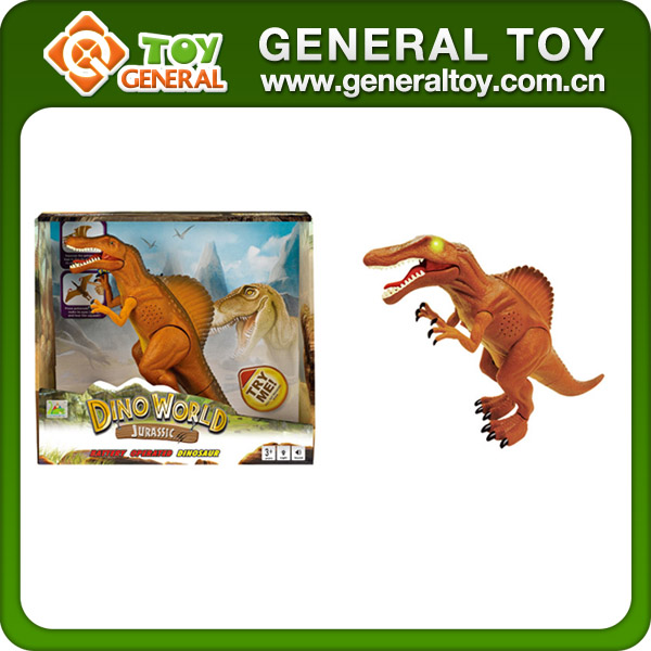 32*9.2*28.6cm Electric Animal Battery Operated Toy Walking Dinosaur Toy
