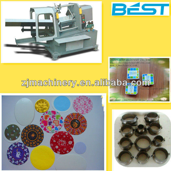 Industry recommended smart card punching machine
