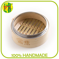 Fast Delivery Bamboo Vegetable Steamer Cooker for Asian Markts