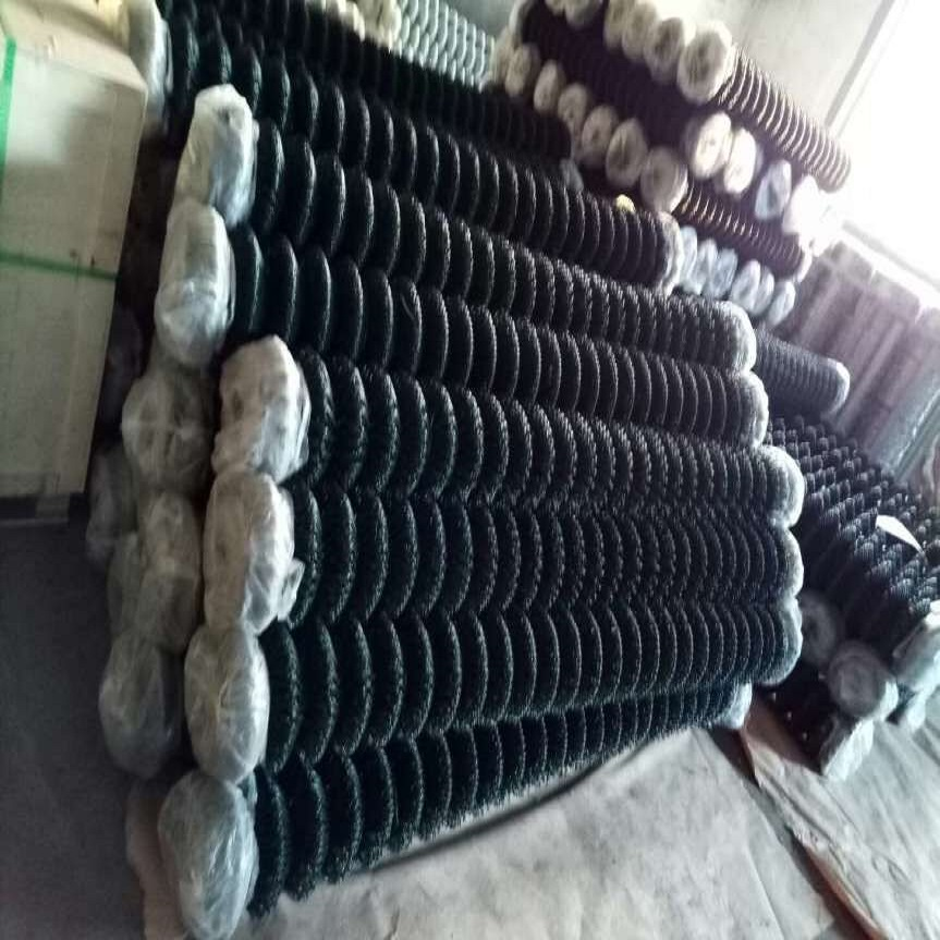 galvanized used chain link fence for sale / used pvc coated chain link fence / zoo mesh fence