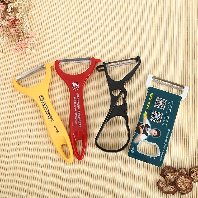 plastic and metal fruit and vegetables peeler with any color