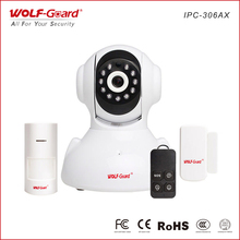2018 ce fc rohs wifi camera Smart home wireless 433mhz ip camera with sms alert